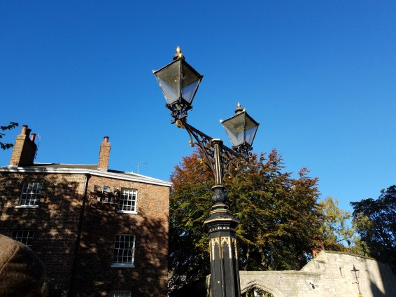 York, England in October sunshine