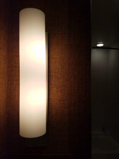 Hotel Valencia - Lighting in Guest Bath