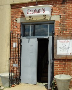 Caravati's front door in Richmond