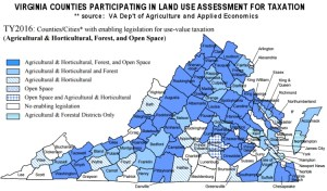 Land Use Assessments for Virginia Taxes