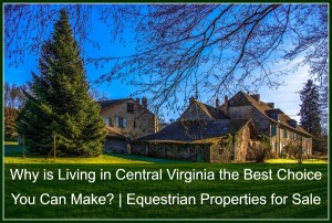 Why is Living in Central Virginia the Best Choice You Can Make? | Equestrian Properties for Sale