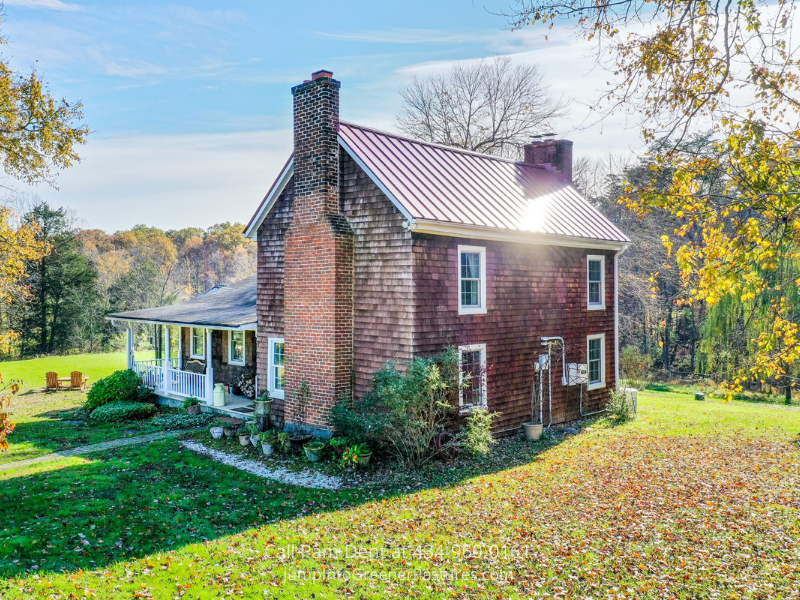 Farm in Gordonsville VA- Enjoy a peaceful and private retreat with this Gordonsville VA farm for sale.
