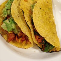 Taco Tuesday: 20 Minute Spinach Pinto Tacos With Avocado Lime Salsa