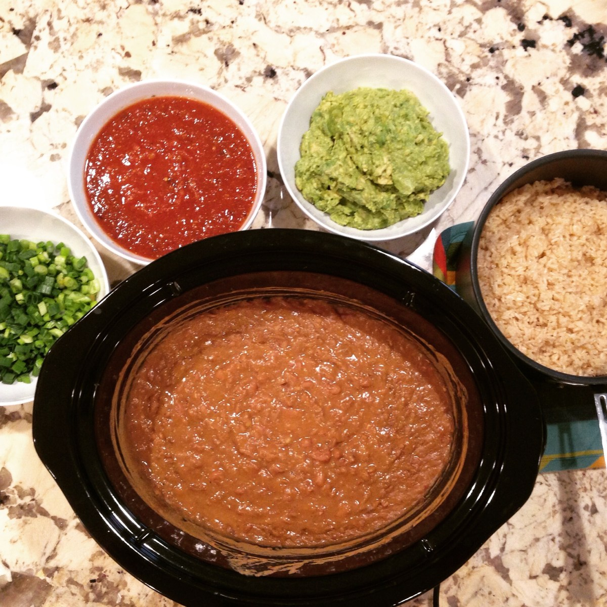 Slow Cooker: Restaurant Style Scratch Made Refried Beans