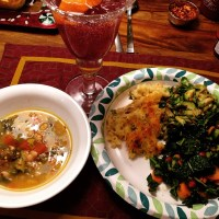 Stove Top or Slow Cooker: Tuscan White Bean & Swiss Chard Soup Two Ways