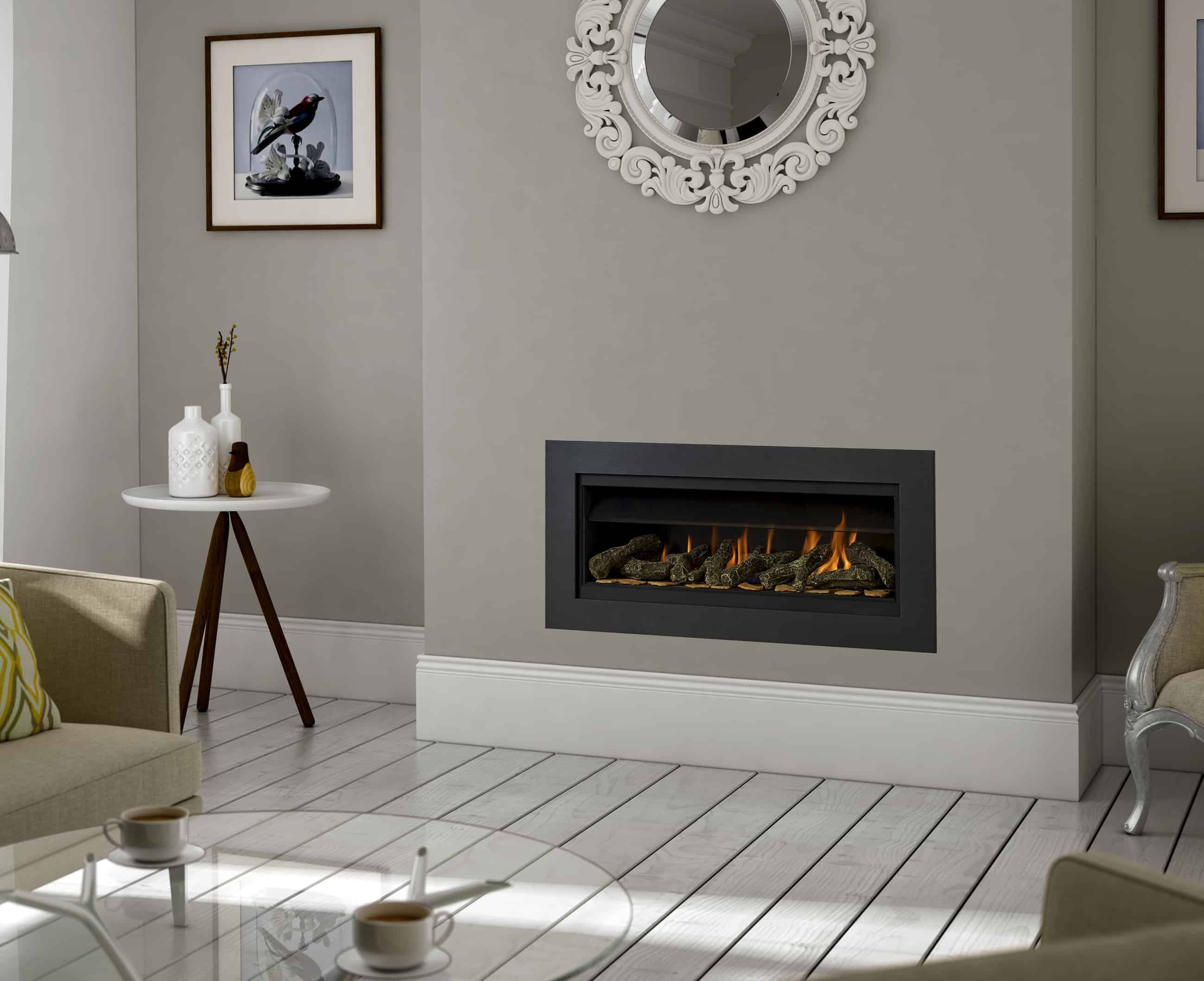 New Paragon P7 Hole In The Wall Gas Fire