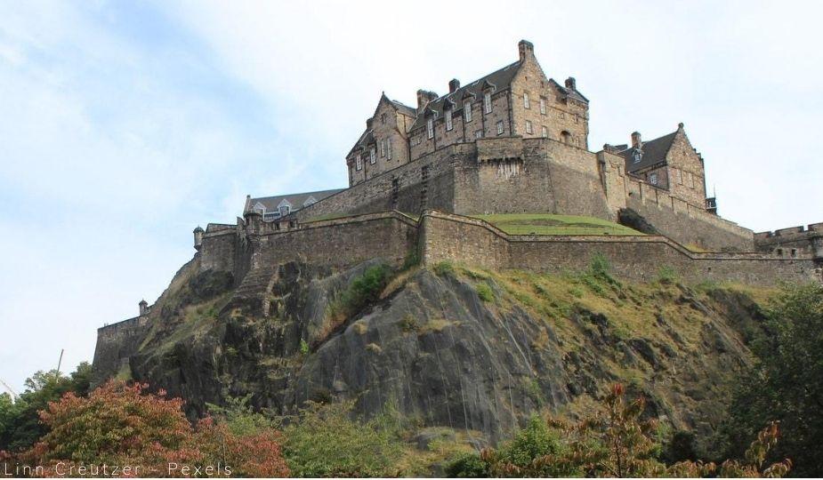 Edimbourg chateau