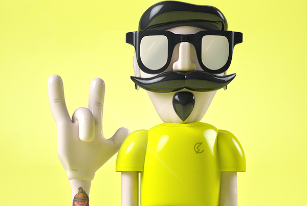 Charly Toy | Diseño en 3D