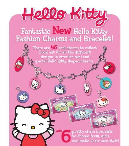 Hello Kitty adjustable Italian Charm micro link ankle bracelet New in Package