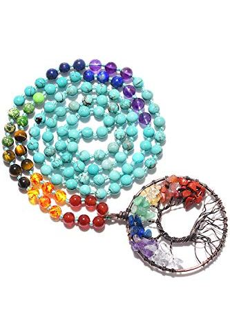 ULTNICE 300pcs Acrylic Tibetan Buddhist Spacer Beads Buddha Lucky Charm Bead Spacers for Jewelry Making Bracelets Necklace