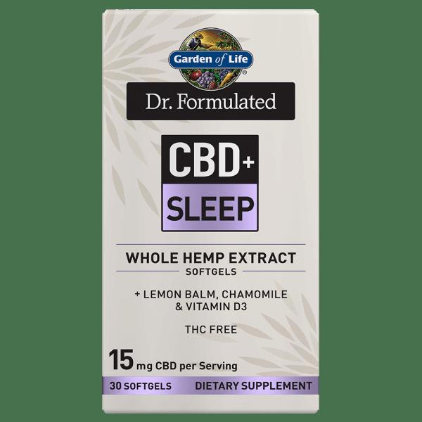 Garden of Life CBD+ Sleep Softgels