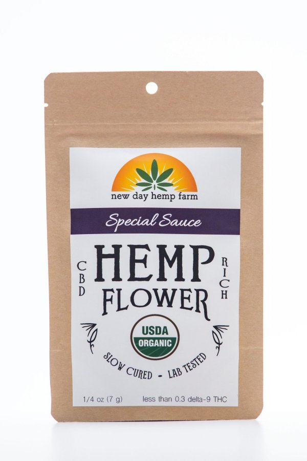 1 Gram New Day Hemp Farm Special Sauce CBD Hemp Flower