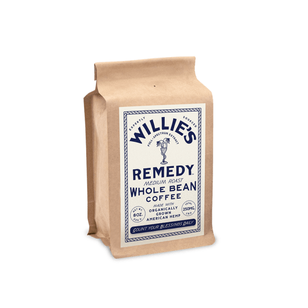 Willie's Remedy Medium Blend 8oz Whole Bean Coffee