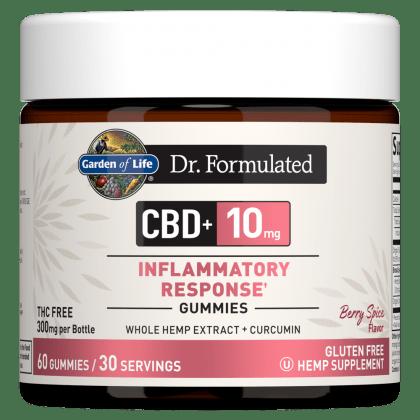 Garden of Life CBD Gummies Inflammatory Response