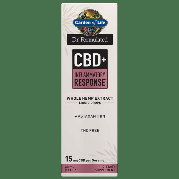 Garden of Life CBD+ Inflammatory Response† Liquid Drops