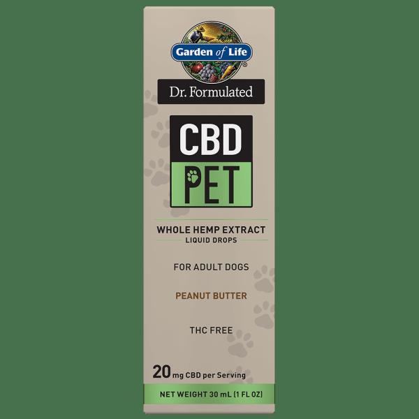 Garden of Life Pet CBD Liquid Drops 20mg