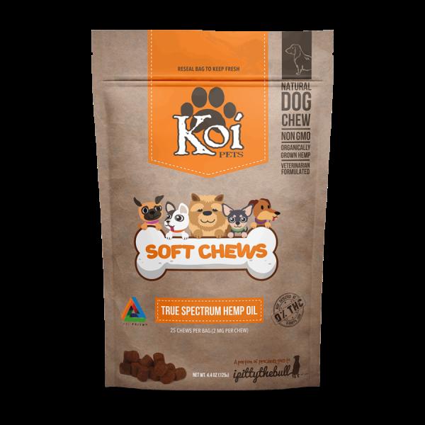 Koi Hemp Extract | CBD Pet Soft Chews 4.8 star rating 112 Reviews