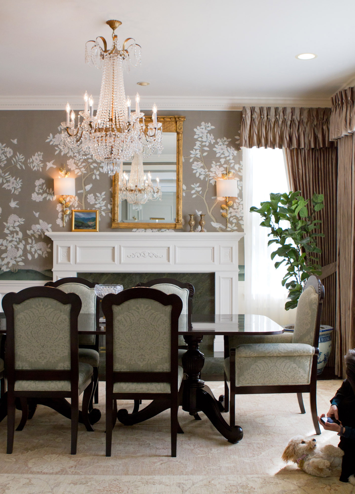 British Colonial in Pasadena  Charmean Neithart Interiors designs stunning living rooms