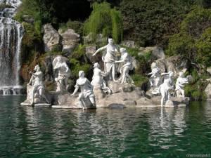 Fontana nella Reggia di Caserta