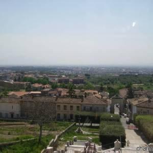 Panorama del Complesso Monumentale del Belvedere di San Leucio