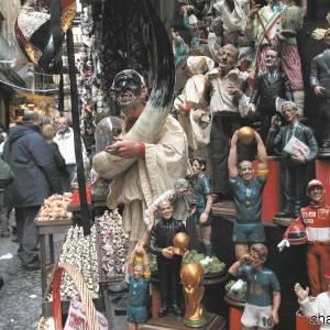 Pastori in esposizione a San Gregorio Armeno