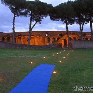 Pompei scavi di notte IV