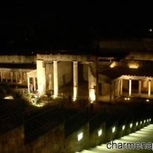 Villa Poppea di notte