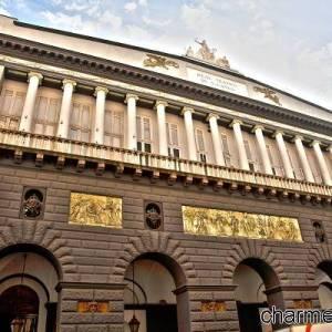Esterno del  Teatro San Carlo