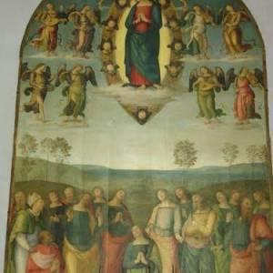Duomo di Napoli Assunta del Perugino (ph Konstantin Mitroshenko)