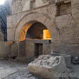 I resti di un antico forno