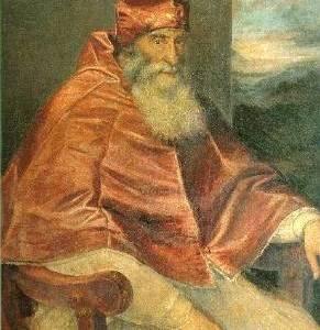 Ritratto di Paolo III Farnese, opera di Tiziano