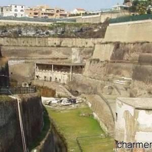 Villa dei Papiri, lo scavo