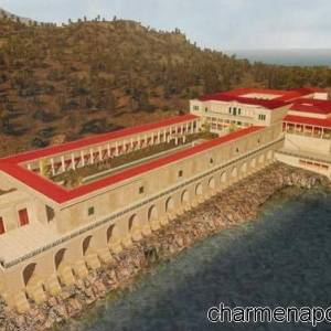 Villa dei Papiri, ricostruzione virtuale