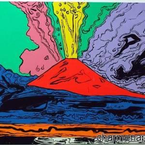 """""""Vesuvius"""" di Andy Warhol"""
