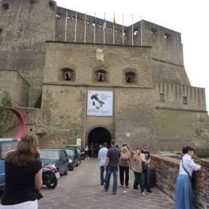 L'ingresso di Castel dell'Ovo