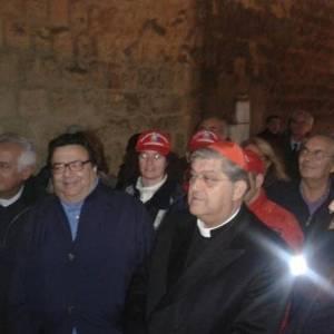 Maddaloni e Sepe a Castel dell'Ovo