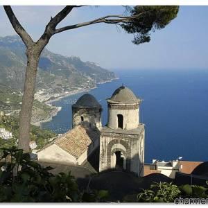 Vista di Ravello da Villa Rufolo