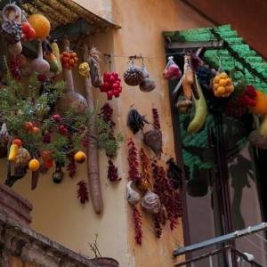 i tipici balconi della Pignasecca