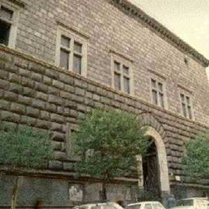 L'ingresso del Museo Filangieri