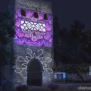 Villa Rufolo di notte