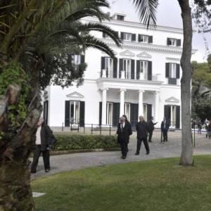 I giardini di Villa Rosebery
