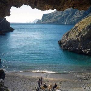 Spiaggia della Baia di Ieranto