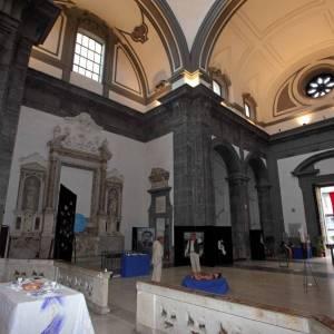 Napoli, spazi interni del complesso monumentale di San Severo al Pendino