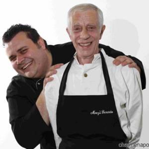 Gerardo Modugno e lo chef Mario Loina
