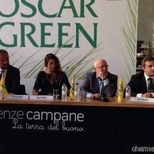 Nell'aula magna di Eccellenze Campania la premiazione degli Oscar Green