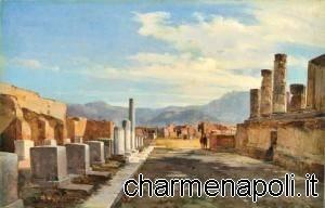 Giacinto Gigante, rovine di Pompei