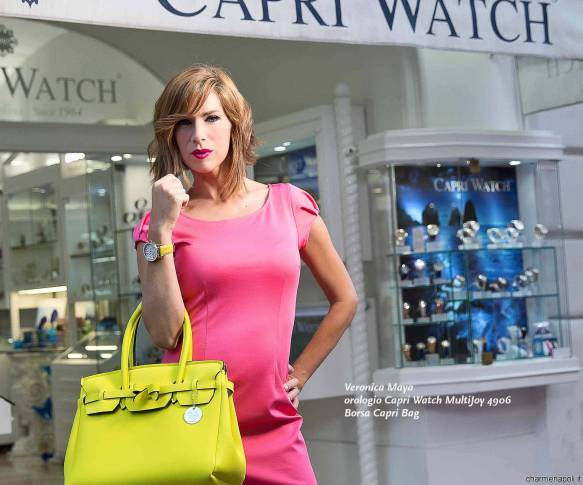 veronica maya per capri watch