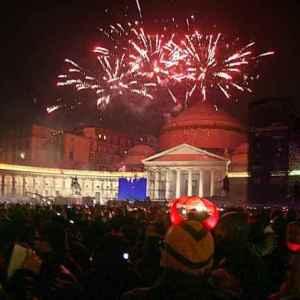 Festa di Capodanno in piazza Plebiscito