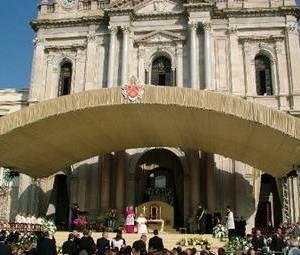 Papa Benedetto XVI a Pompei