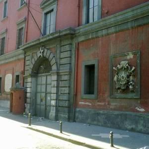 L'ingresso della Caserma Bruno Tofano di Nocera Inferiore